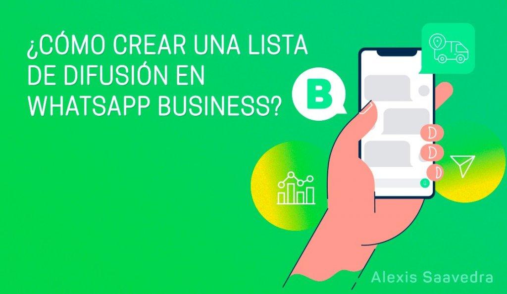lista de difusion para whatsapp business