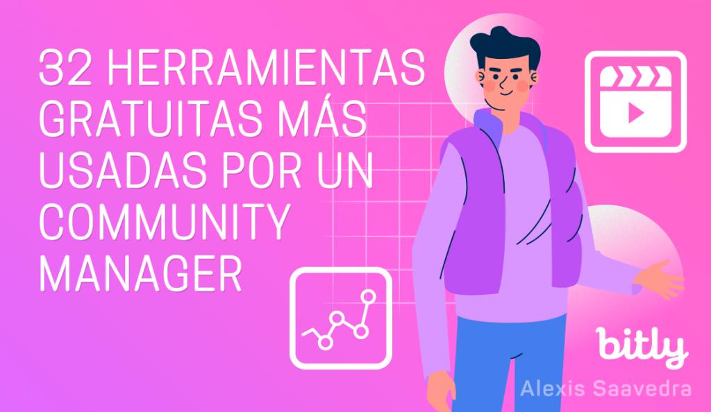 32 herramientas gratuitas más usadas por un community manager